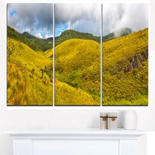 Beautiful Green Horton Plains - Oversized Landscape Wall Art Print
