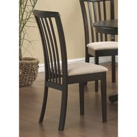 Coaster Company Contemporary Cappuccino Finish Chair