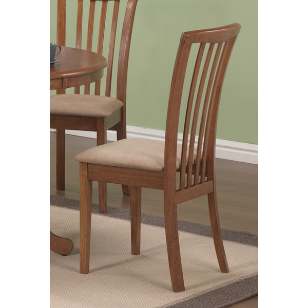"""Coaster Company Contemporary Brown Dining Chair - 16.50"""" x 21.25"""" x 36.75"""""""