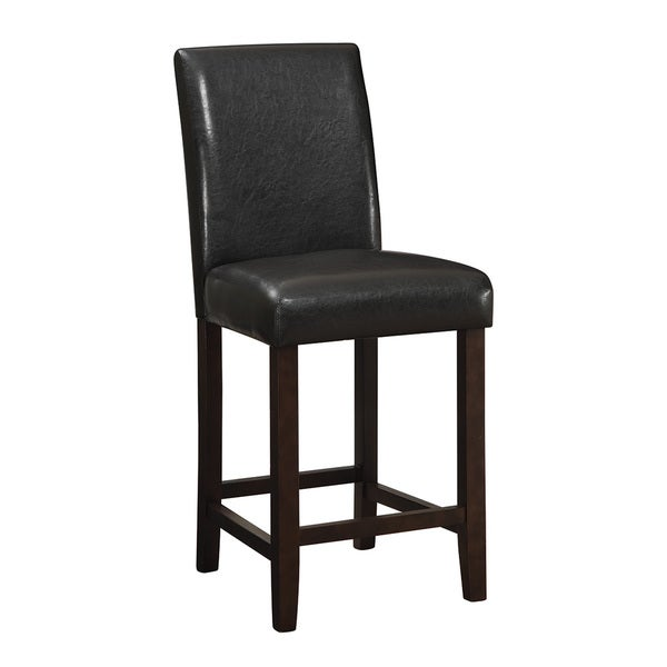 Coaster Company Brown 24 Inch Counter Height Chair   Free Shipping Today    Overstock.com   19078879