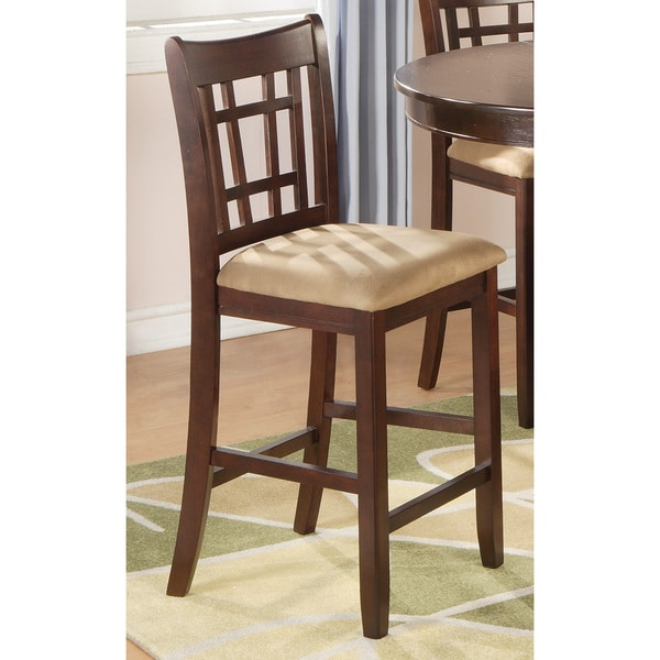 Shop Coaster Company Brown Wood 24 Inch Bar Stool On Sale Free