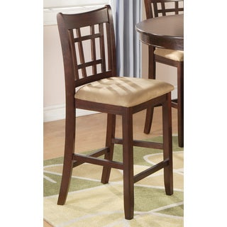 Coaster Company Brown Wood 24-Inch Bar Stool