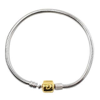De Buman 10k Yellow Gold and 925 Silver 7.48-inch Charm Bracelet|https://ak1.ostkcdn.com/images/products/12235301/P19078874.jpg?impolicy=medium