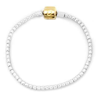 De Buman 10k Yellow Gold and 925 Silver 7.48-inch Charm Bracelet|https://ak1.ostkcdn.com/images/products/12235308/P19078883.jpg?impolicy=medium