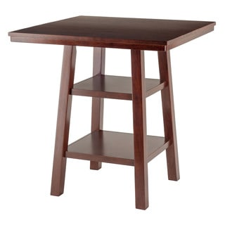 Winsome Orlando Wooden Storage High Table