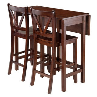Winsome Lynwood 3-piece Drop-leaf Dining Set
