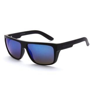Epic Eyewear Dual-tone UV400 Retro Square-frame Sunglasses