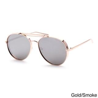 Epic Eyewear Designer Top-bridge Full-frame Aviators Sunglasses
