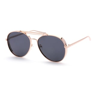 Epic Eyewear Designer Top-bridge Full-frame Aviators Sunglasses