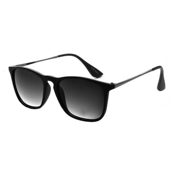 Epic Eyewear Dual-tone UV400 Retro Square Frame Sunglasses