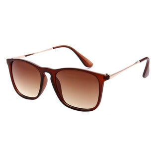 Epic Eyewear Dual-tone UV400 Retro Square Frame Sunglasses