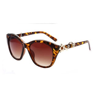Epic Eyewear Cute Flower Emblem Adorned UV400 Sunglasses