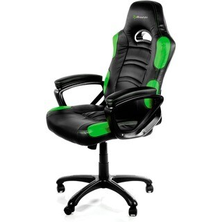 Arozzi Enzo Racing Style Gaming Chair, Green
