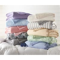 Quilted Micro Flannel and Sherpa 6-layer Heated Electric Blanket