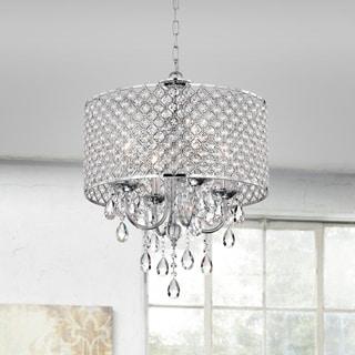 aaryn 4 light drum chandelier