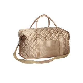 Preferred Nation Gold Savvy Weekend Duffel Bag