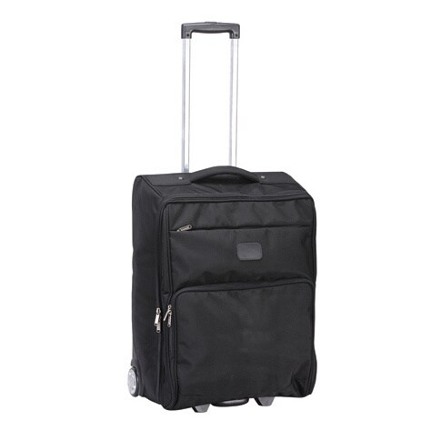 Goodhope Ballistic Nylon 25-inch Foldable Rolling Upright Suitcase