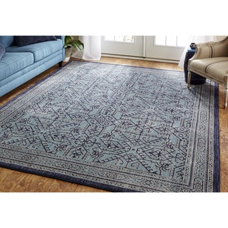 Mohawk Home Cascade Heights Barrow Blue Area Rug (8' x 10')