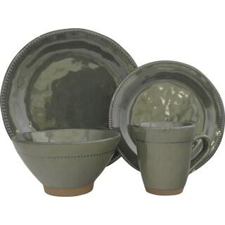 Cyprus Stoneware 16-piece Dinnerware Set (Service for 4)