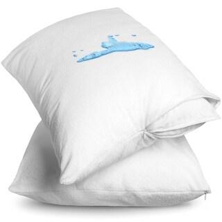 Premium Waterproof Pillow Protector (Set of 2)