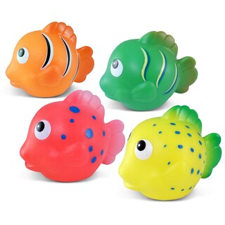 Puzzled Reef Fish Bath Buddies Collection (Pack of 4)
