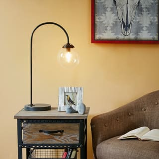 Buy industrial table lamps online at overstock our best inkivy venice bronze table lamp aloadofball Image collections