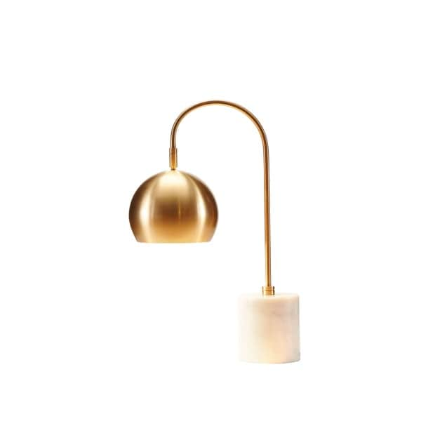 Madison Park Signature Halsey White/Gold Table Lamp - Free Shipping Today -  Overstock.com - 19080905 - Madison Park Signature Halsey White/Gold Table Lamp - Free