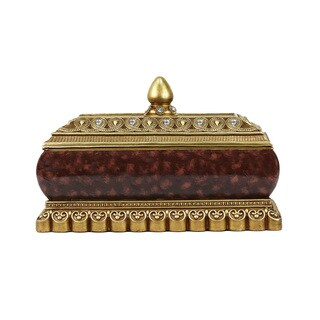 D'Lusso Designs Kashmir Collection Large Jewelry Box