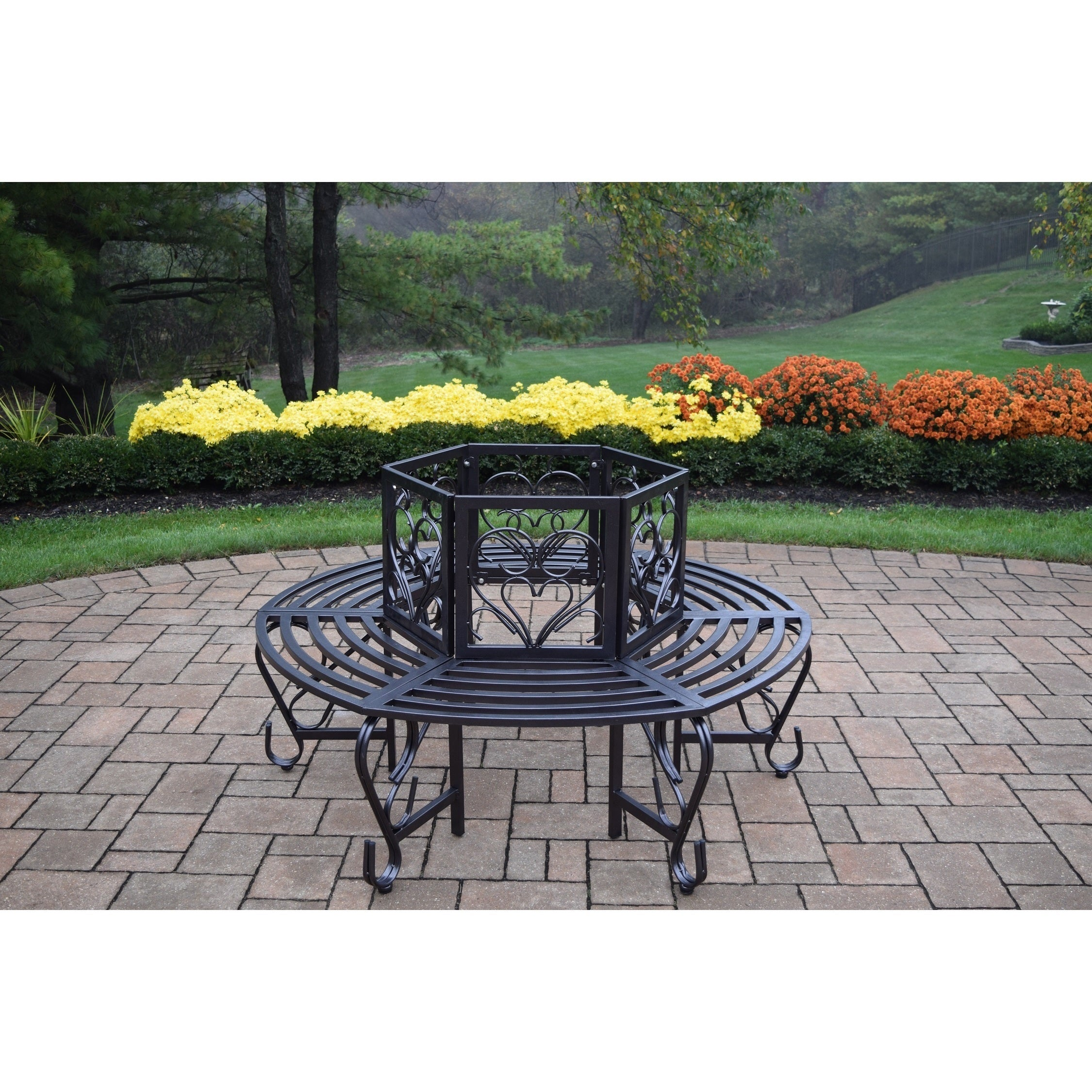 Awesome Buy Metal Outdoor Benches Online At Overstock Our Best Squirreltailoven Fun Painted Chair Ideas Images Squirreltailovenorg
