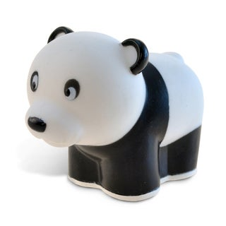 Puzzled Black/White Panda Squirter Bath Toy