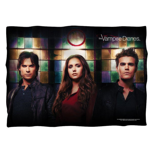 Vampire Diaries/Stained Glass Polyester 20x28 Pillowcase