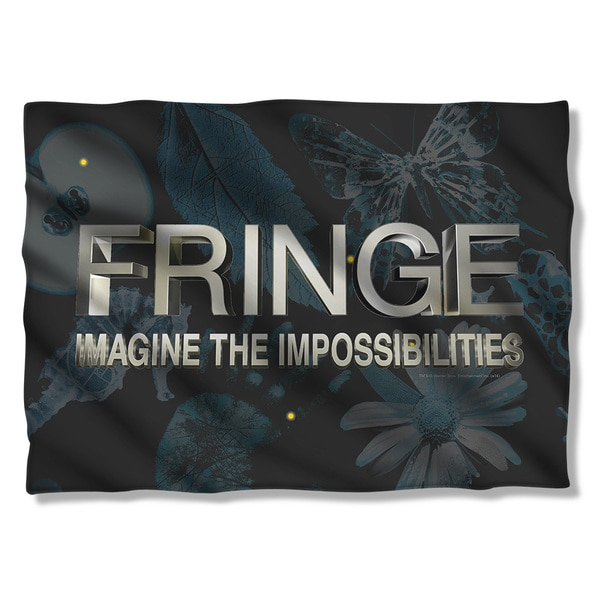 Fringe/Logo Pillowcase