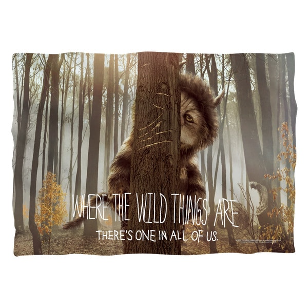 Where The Wild Things Are/Wild Thing Tree Polyester 20x28 Pillowcase