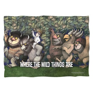Where The Wild Things Are/Wild Rumpus Dance Polyester 20x28 Pillowcase