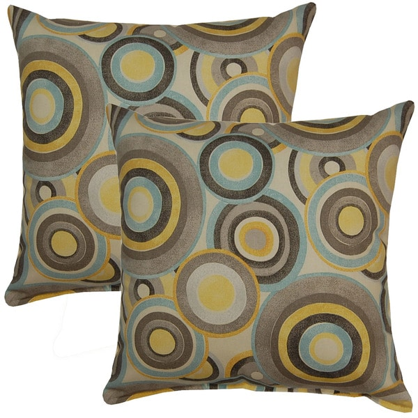 Roll Play Mineral 17in Throw Pillows (Set of 2)