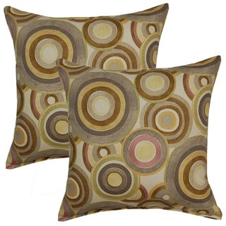Roll Play Heather 17in Throw Pillows (Set of 2)