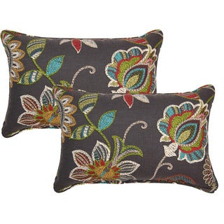 Matador Rainbow 12in Corded Throw Pillows (Set of 2)