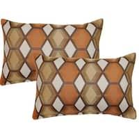 Catcher Pumpkin 12in Throw Pillows (Set of 2)