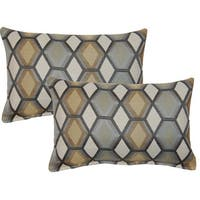 Catcher Grey 12in Throw Pillows (Set of 2)
