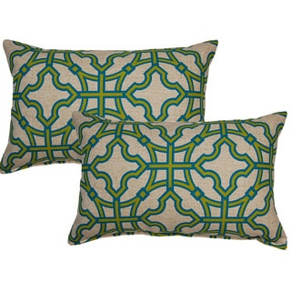 Summer Sprout 12in Throw Pillows (Set of 2)