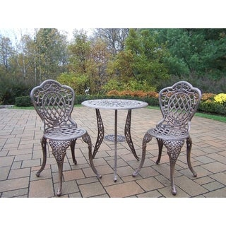 Explorer Cast Aluminum 3-piece Bistro Set