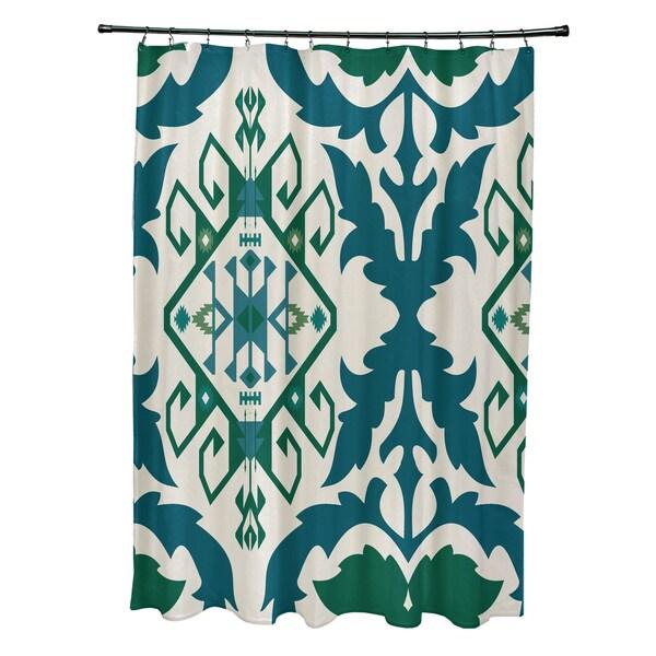 71 x 74-inch Bombay 6 Geometric Print Shower Curtain
