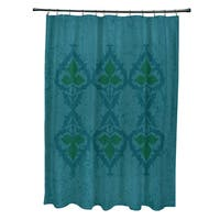 71 x 74-inch Ananda Geometric Print Shower Curtain