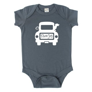 Rocket Bug Dog Joy Ride Cotton Baby Bodysuit