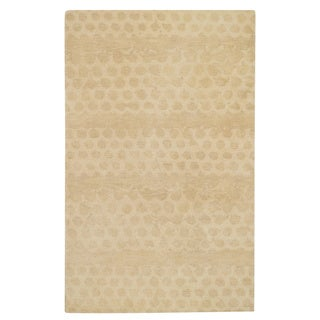 Bee Hives Honey Hand Tufted Rug (5' x 8')