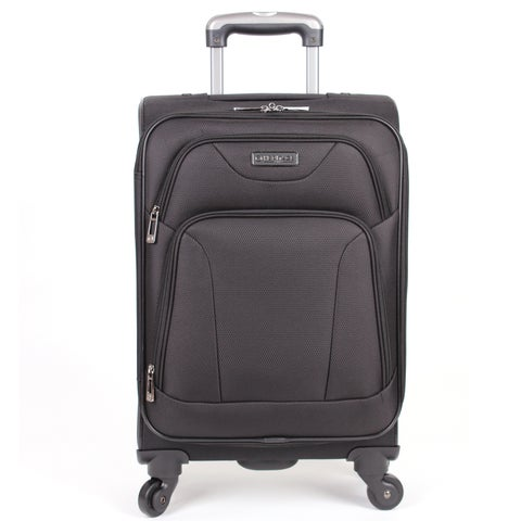 Heritage Wicker Park 20-inch Expandable 4-wheel Spinner Carry-on Suitcase