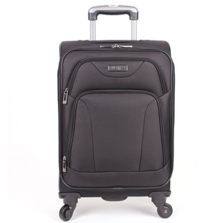 Heritage Wicker Park 20-inch Expandable Carry-On Spinner Suitcase