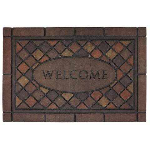 "Mohawk Home Doorscapes Estate Mosaic Spice Door Mat (1'11 x 2'11) - 1'11"" x 2'11"""