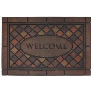 Mohawk Home Doorscapes Estate Mosaic Spice Door Mat (1'11 x 2'11)