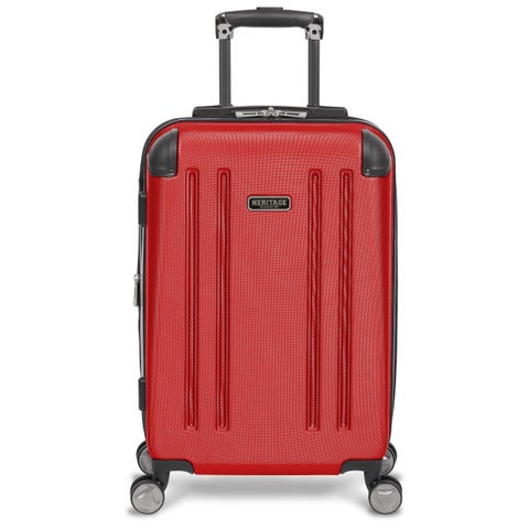 Heritage O'Hare 20-inch Hardside Carry-on Spinner Suitcase
